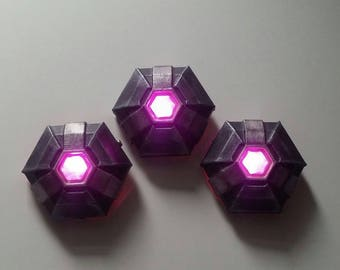 Sombra's  Mines LED Overwatch cosplay