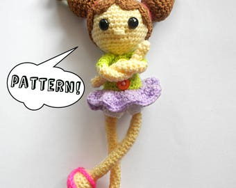 DIDA DOLL Pdf Pattern - Amigurumi Doll Pattern - Crochet Toy Instructions - Digital File - Instant Download - NOT Finished Object