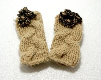 "Baby Knit Leg Warmers: ""CREAM LEG WARMERS"" Baby Leggings Baby Leg Warmers Baby Ruffle Leg Warmers baby girls leg warmers baby leggings A92"
