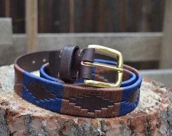 Leather Belt - Big Sur