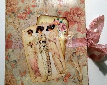 Vintage ladys journal