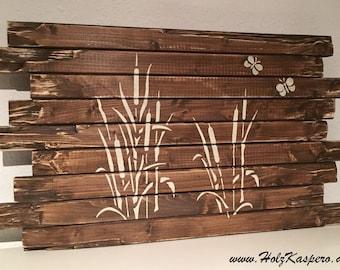 HolzKaspero mural grasses