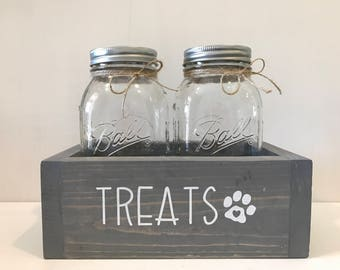 Dog Treat Jar, Mason Jar Dog Treats, Dog Treat Container, Dog Treat Holder, Dog Treats, Dog Lover