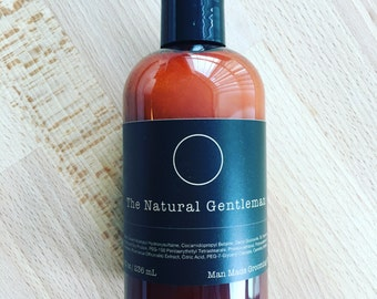 "Gentlemen's Beard Wash ""The Natural Gentleman"" - Wash Your Worries Away"
