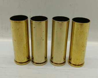 454 Casull Brass Casings-25 Cleaned Unprocessed Bullet Casings-454 Brass for Reloading-454 Reloading Brass for Reloading Large Bullets