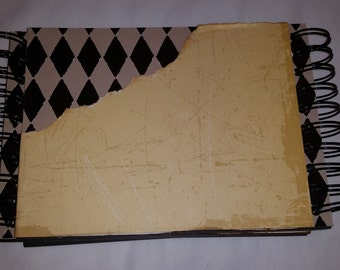 One of a kind double binding blank book