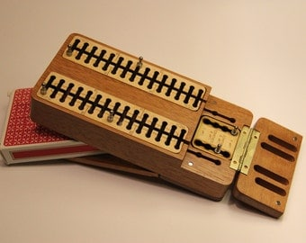 Traveling Cribbage Board
