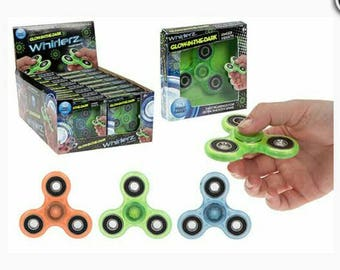 Glow in the dark Finger fidgets/whirlerz