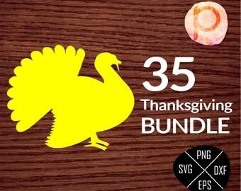 Thanksgiving svg Bundle*SVG Bundle*Pumpkin Turkey SVG*Fall SVG Bundle*Autumn svg Bundle,clipart,dxf,png,eps*Cutting File*Cricut*Silhouette