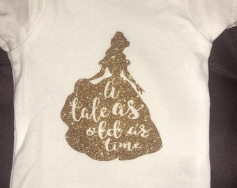 Belle a tale as old as time shirt