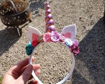 Unicorn Hairband - Various Colours Available!