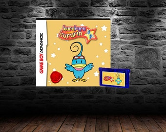 Kuru Kuru Kururin - Addictive and Fun Puzzle Adventure - GBA - English Translation