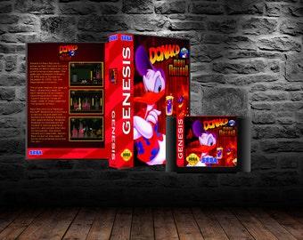 Donald in Maui Mallard - Platforming adventure in this Sega Channel Exclusive - GEN - Maui Mallard in Cold Shadow
