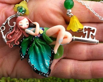 Sleeping Fairy on Key