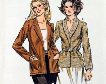 Kwik Sew 1041   Free Shipping Miss Jacket Size 6 to 12  Uncut