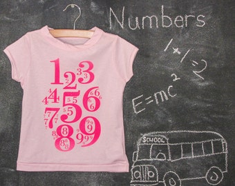 Toddler Girl Numbers