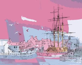 Trincamolee in Pink - Warship