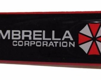 Items similar to Resident Evil Umbrella Corporation Perler ...