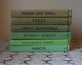 Green Observer Books Insects Fishes Trees Cats Shrubs