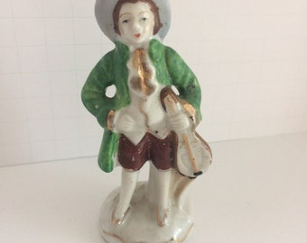 Man with violin Figurine Early 1900's