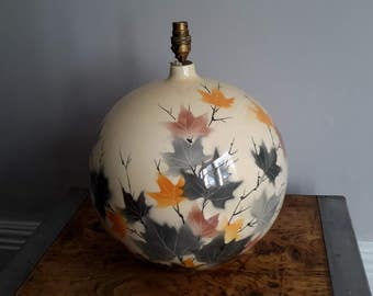 Large ceramic lamp base
