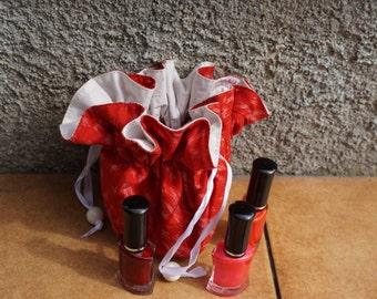 Pochette Huiles Essentielles ou cosmétiques en Matmee
