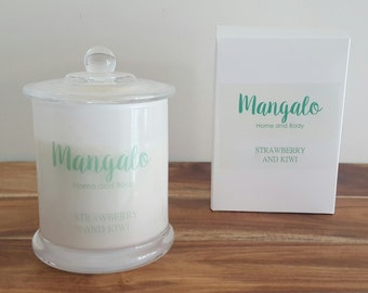 Strawberry and Kiwi Soy Candle