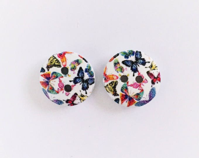 The 'Tia' Button Earring Studs