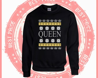 On Sale Today Merry Christmas Queen sweater- Ugly Christmas sweater-Merry Christmas sweater-Hotline bling-drake-ugly sweater party