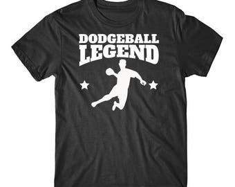 Retro Dodgeball Legend T-Shirt For Dodgeball Players