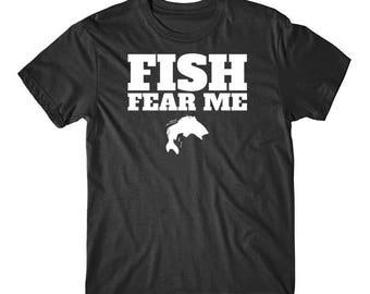 Fish Fear Me Funny Fishing T-Shirt