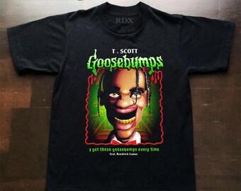 Travis Scott Goosebumps Inspired T shirt
