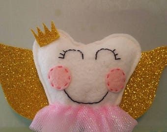 Tooth Fairy Pillow, Fairy tooth holder, Girls  Tooth Fairy Pillow, Tooth Fairy,  Tooth Fairy accessories,