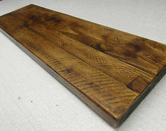 Wooden Rustic Reclaimed Wood Shelving Unit Bookshelf Handmade Storage Solid