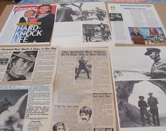 CLINT EASTWOOD  clippings  #0512