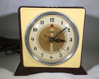 "General Electric ""Acorn"" Model 7H78 Alarm Clock"