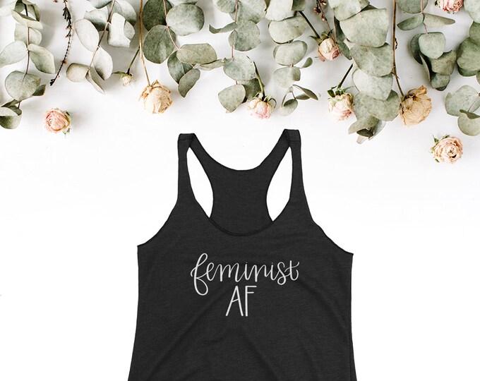Feminist AF Women's Tank Top