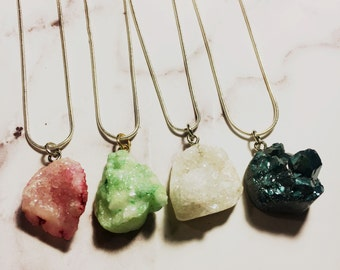 Natural Stone Necklace (1)