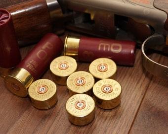 12G Shotgun cartridge (bullet) magnets X6