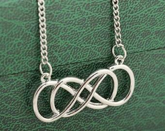 REVENGE double infinity necklace