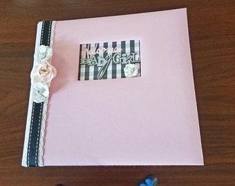 Baby Girl Scrapbook Album