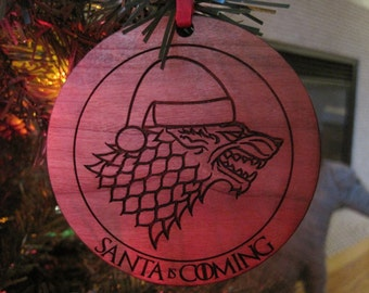 Game Of Thrones Christmas Ornament