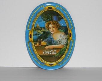 Mini Coca Cola Tray - Coke - Miniature small size 6 inch - Priority Shipping World Wide - More Retro Coke in Shoppe!