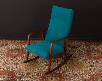 50's rocking chair, armchair, sofa, 60s, vintage (703016)