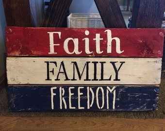 Faith, Family, Freedom Board