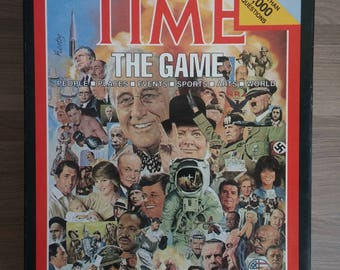Time The Game - 1983 Adult Game for 2 or more players with Special Questions for Children - Board Game Trivia