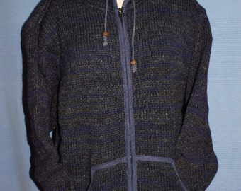 Handcrafted wool jacket from Nepal