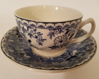 Johnson Brothers Devon Cottage Ironstone Cup & Saucer