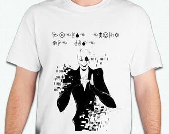 Undertale Gaster Tshirt shirt