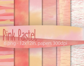 Pink Pastel: Decorative Papers